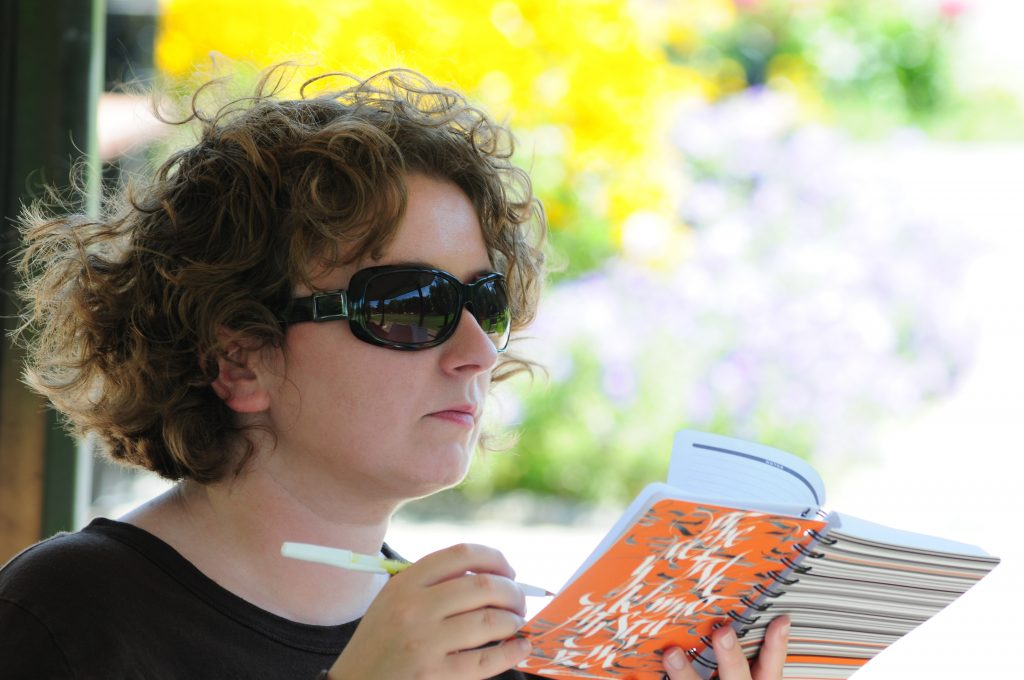 Kelly-Anne Riess writing