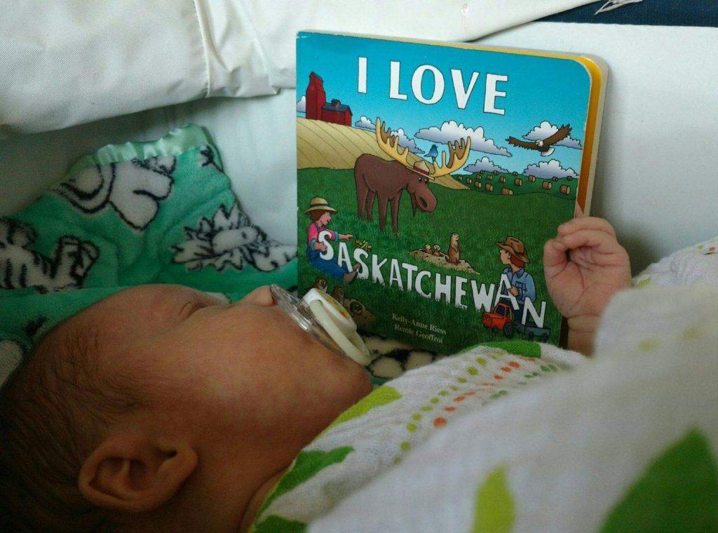 I Love Saskatchewan - Franklin reads